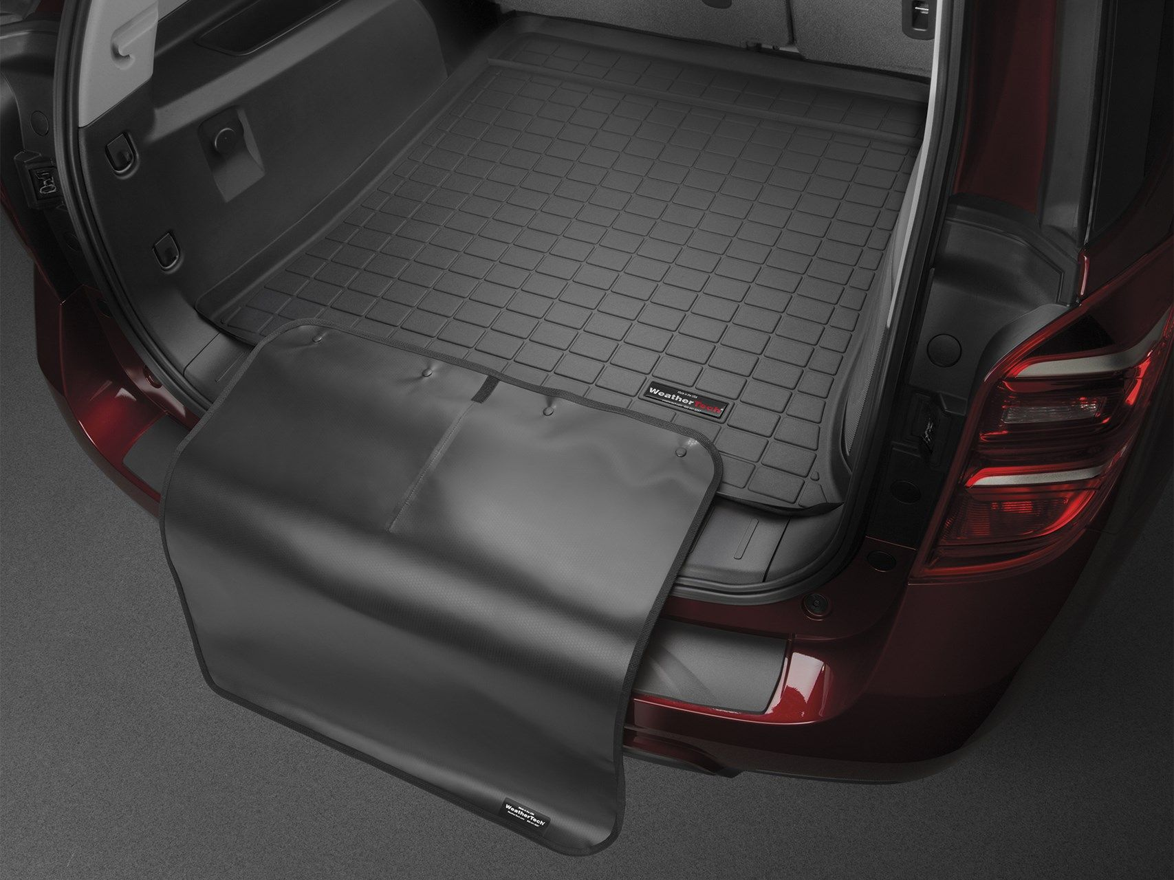 Weathertech floor mats nissan pathfinder - 2015 Nissan Pathfinder Cargo Mat And Trunk Liner For Cars Suvs And Minivans Weathertech