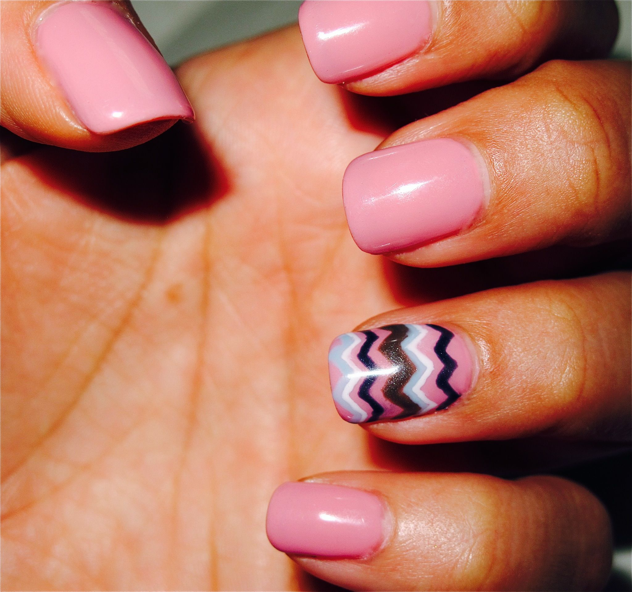 Squiggly Lines Perfect Nails Pinterest