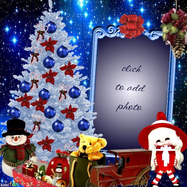 Christmas #25 Card From Imikimi. Click To Add Your Photo