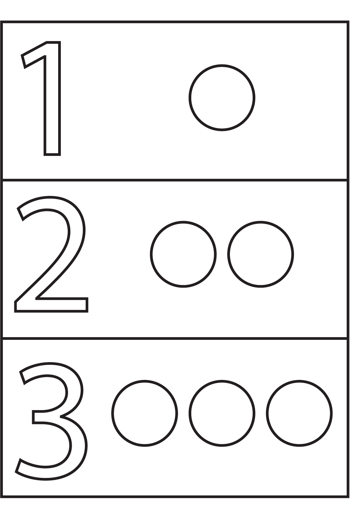 Shapes And Numbers Worksheets For Kids