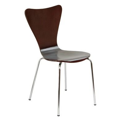 Legare Furniture Legare Seating Bent Plywood Chair in Espresso