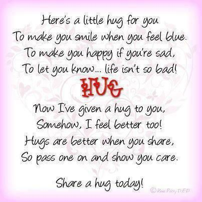 Here's A Little Hug For You
