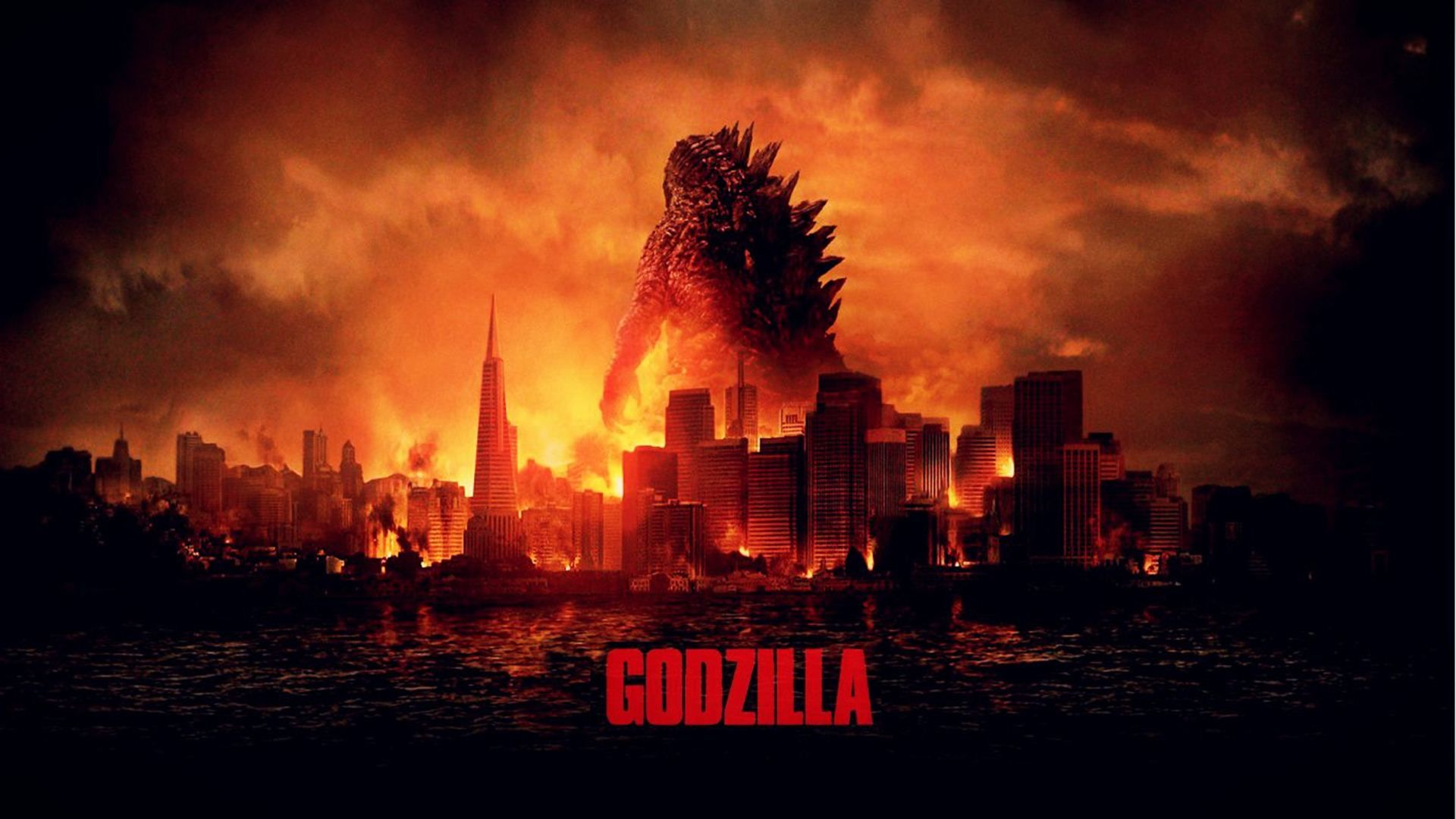 Godzilla Monsters HD desktop wallpaper Widescreen High