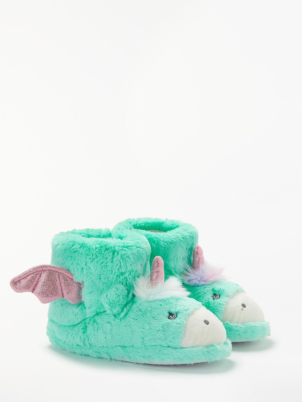 4548ccf0806 John Lewis   Partners Children s Unicorn Booties Slippers