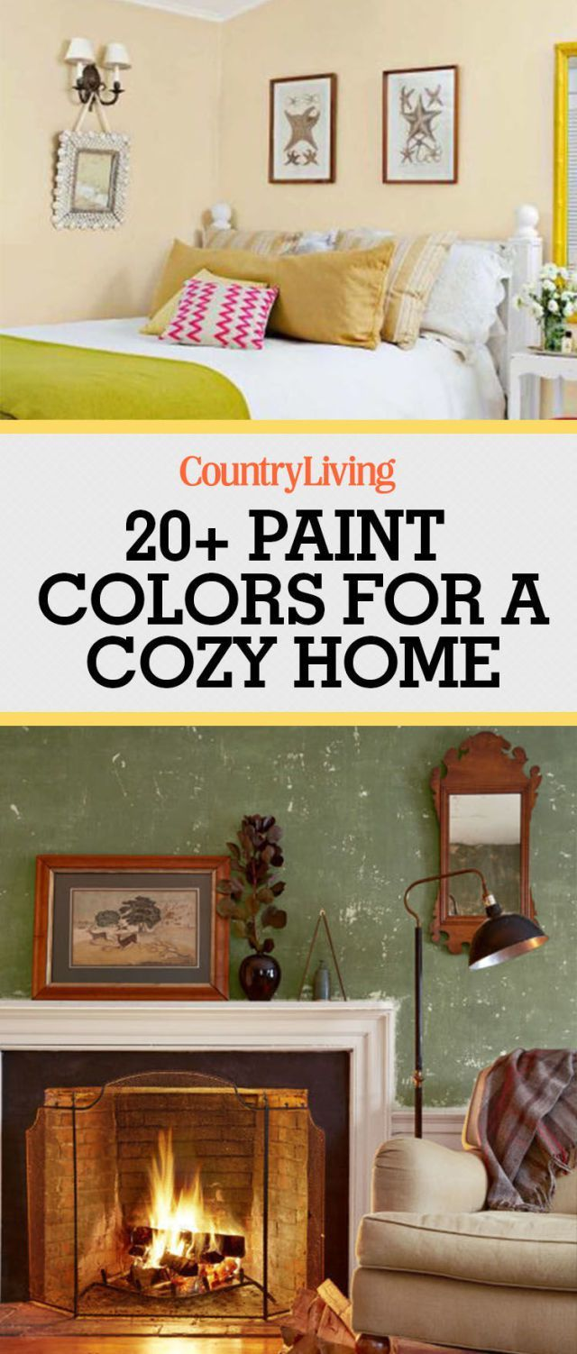 23 Warm Paint Colors for a Cozier Home is part of Warm Living Room Red - Give your home that warm and cozy feeling with these paint ideas