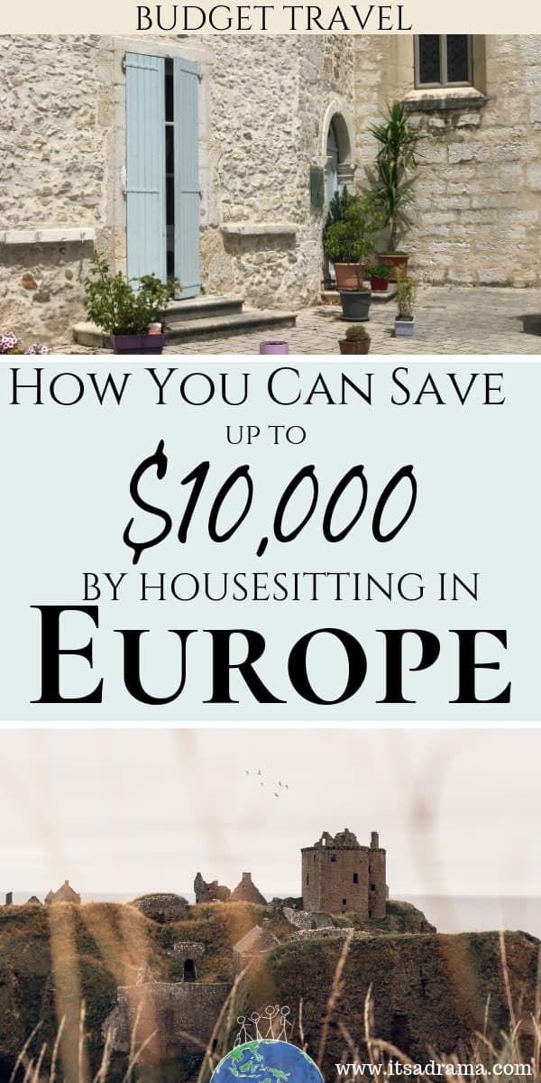 Haus, das in Europa sitzt. Wie man $$$ rettet (und ausgewählt wird) – Es ist ein Drama   – Travel
