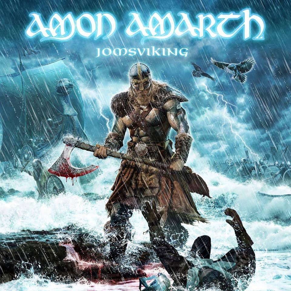 Jomsviking Cover Art Amon Amarth Amon Viking Metal