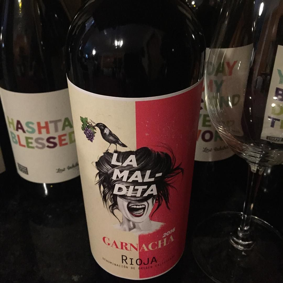 Happy Wine Wednesday I Chose This Wine Today Because Her Face Looks Like This Week Feels How S Your Week Going Winew Happy Wine Spanish Wine Wine Lovers