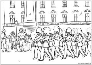 London Colouring Pages Colouring Pages Queens Guard Coloring Pages
