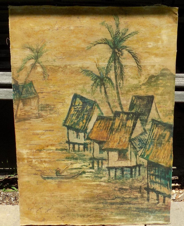Indonesian Batik, 34 1/2\