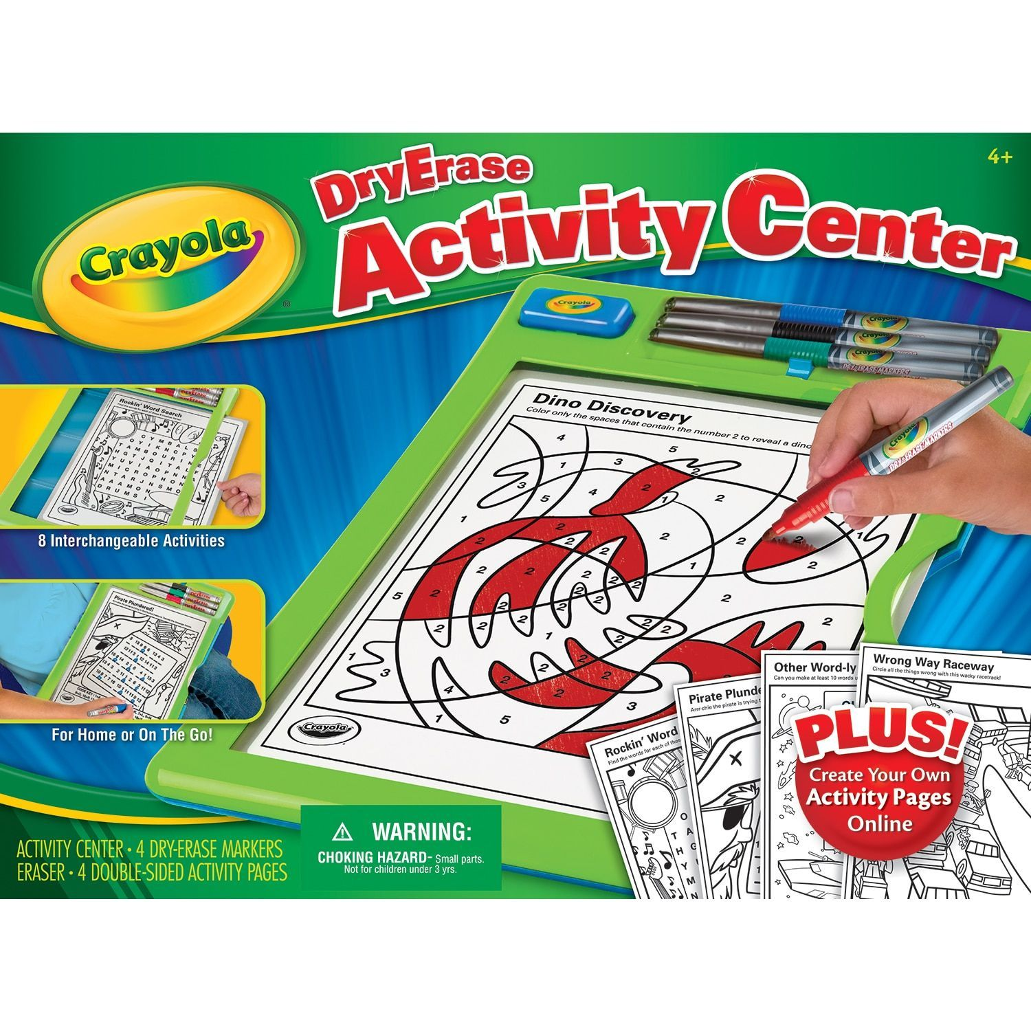 crayola 98 8574 dry erase activity center products pinterest