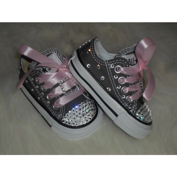296ecc83ac5129 Decorated baby Converse Sneakers