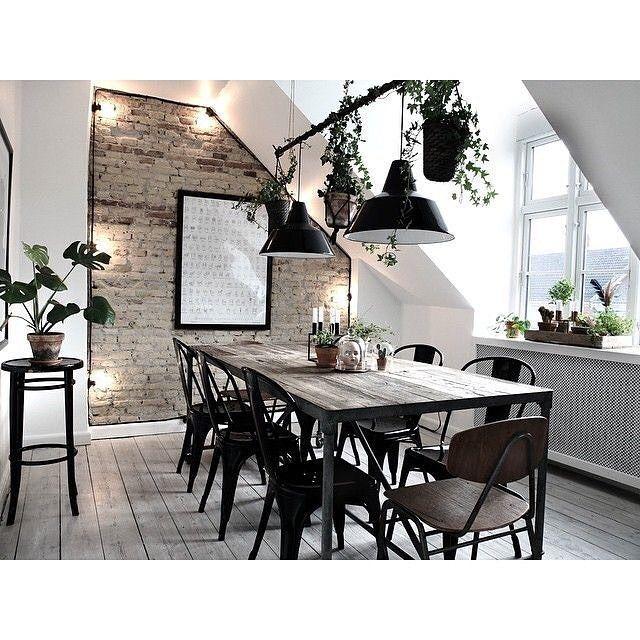 12+ Style industriel salle a manger ideas in 2021