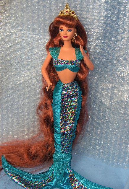 Jewell Hair: Jewel Hair Mermaid Midge 1995