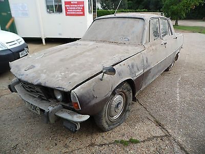 Rover 3500 P6 V8 Autoraregenuine Barn Findfor Restorationspares Or Repair