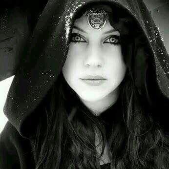 Gothic goth hood