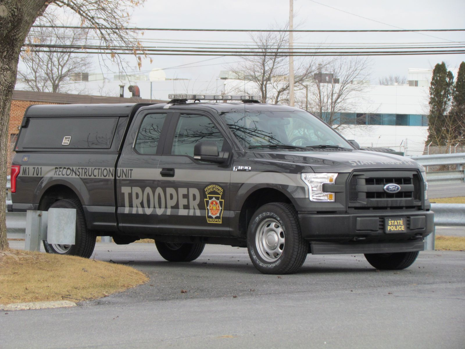Pennsylvania Pennsylvania State Police Reconstruction Unit Ford F150 Pickup Police Truck Police Cars Ford Police