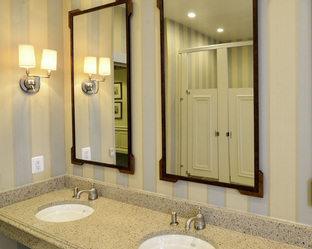 Ironwood Manufacturing laminate toilet partition with molding bathroom doors. Beautiful upscale toilet restroom stalls & Ironwood Manufacturing laminate toilet partition with molding ... pezcame.com
