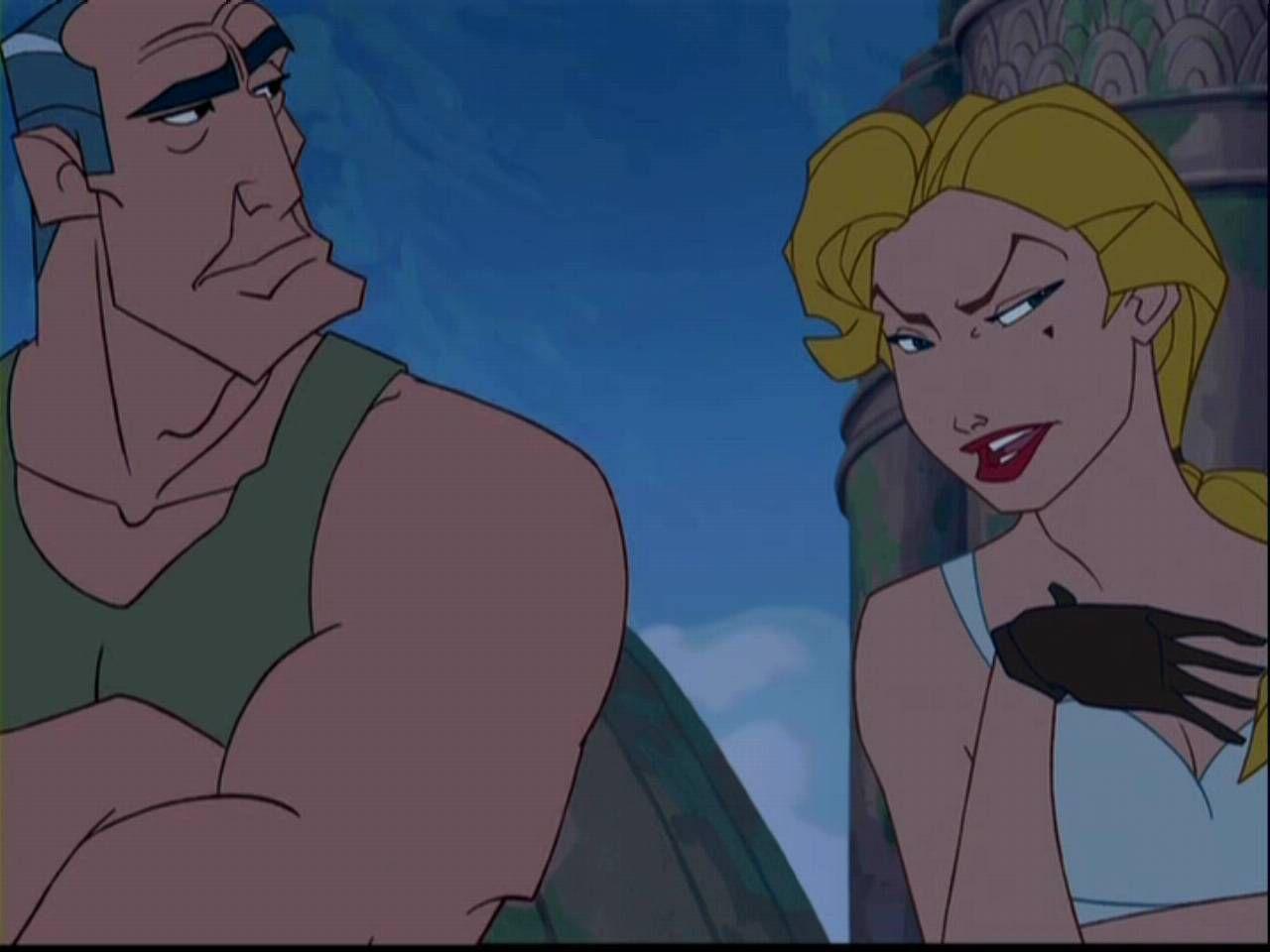 Disneys Atlantis The Villains: *COMMANDER ROURKE & HELGA