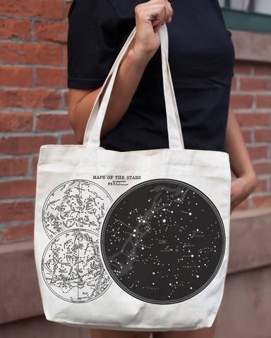 Star Chart Tote Bag - Cognitive Surplus - 1