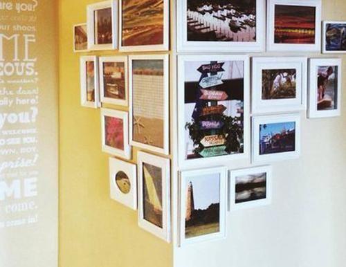 Muur Ideeen Tuin : Fraaie fotowand: 10 ideeën eigen huis en tuin aan de muur
