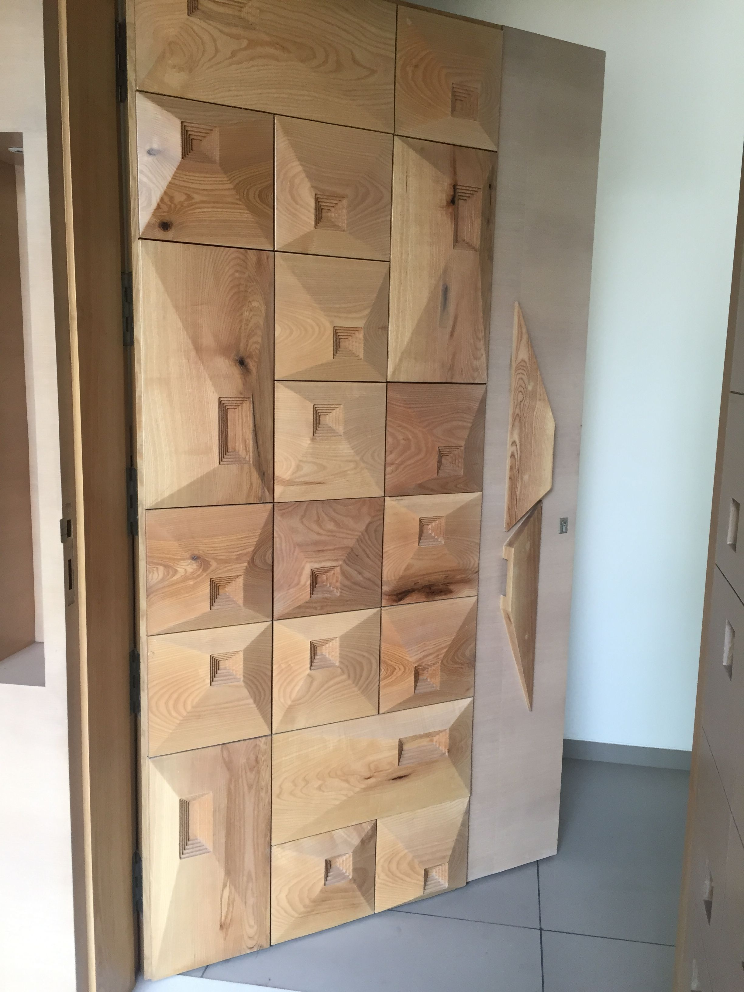 3D Texture Door Design Ideas