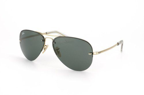 ec2818b48a060 Ray Ban Rb 3449 001 71 Gold Rb3449 Aviator Sunglasses Ray-Ban. Save 26  Off!.  94.92