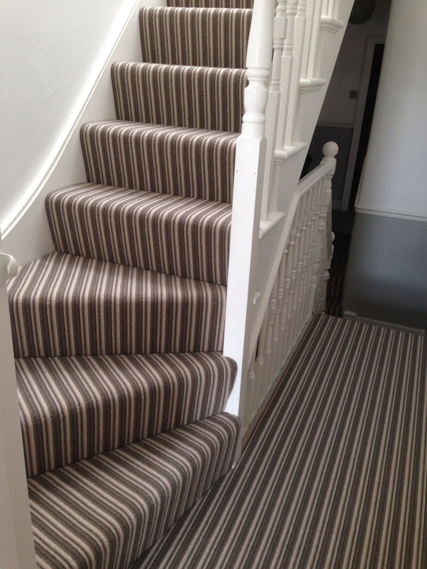 Stripey Striped Stair Carpet From