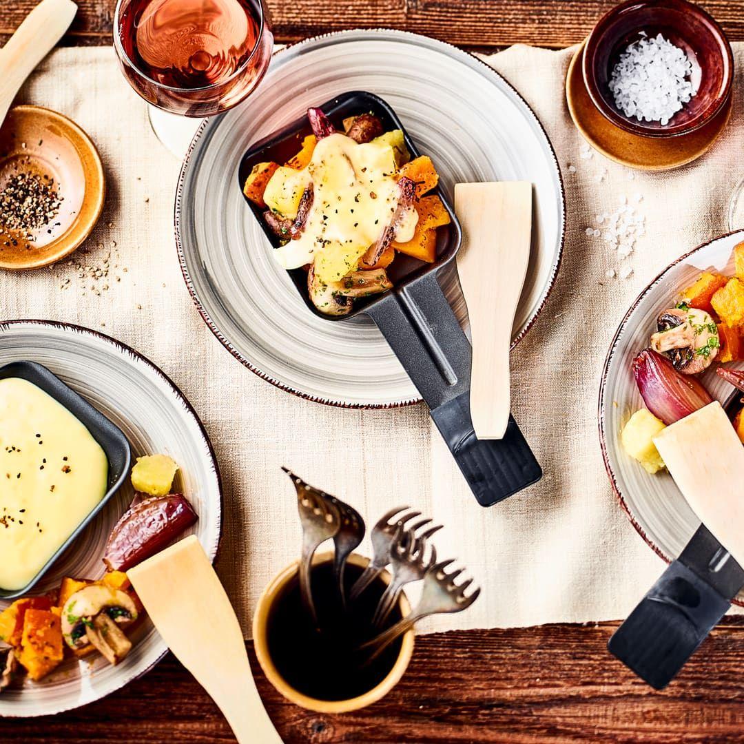Herbstliches Raclette Rezept Edeka Rezept Rezepte Lebensmittel Essen Rezepte Mit Champignons