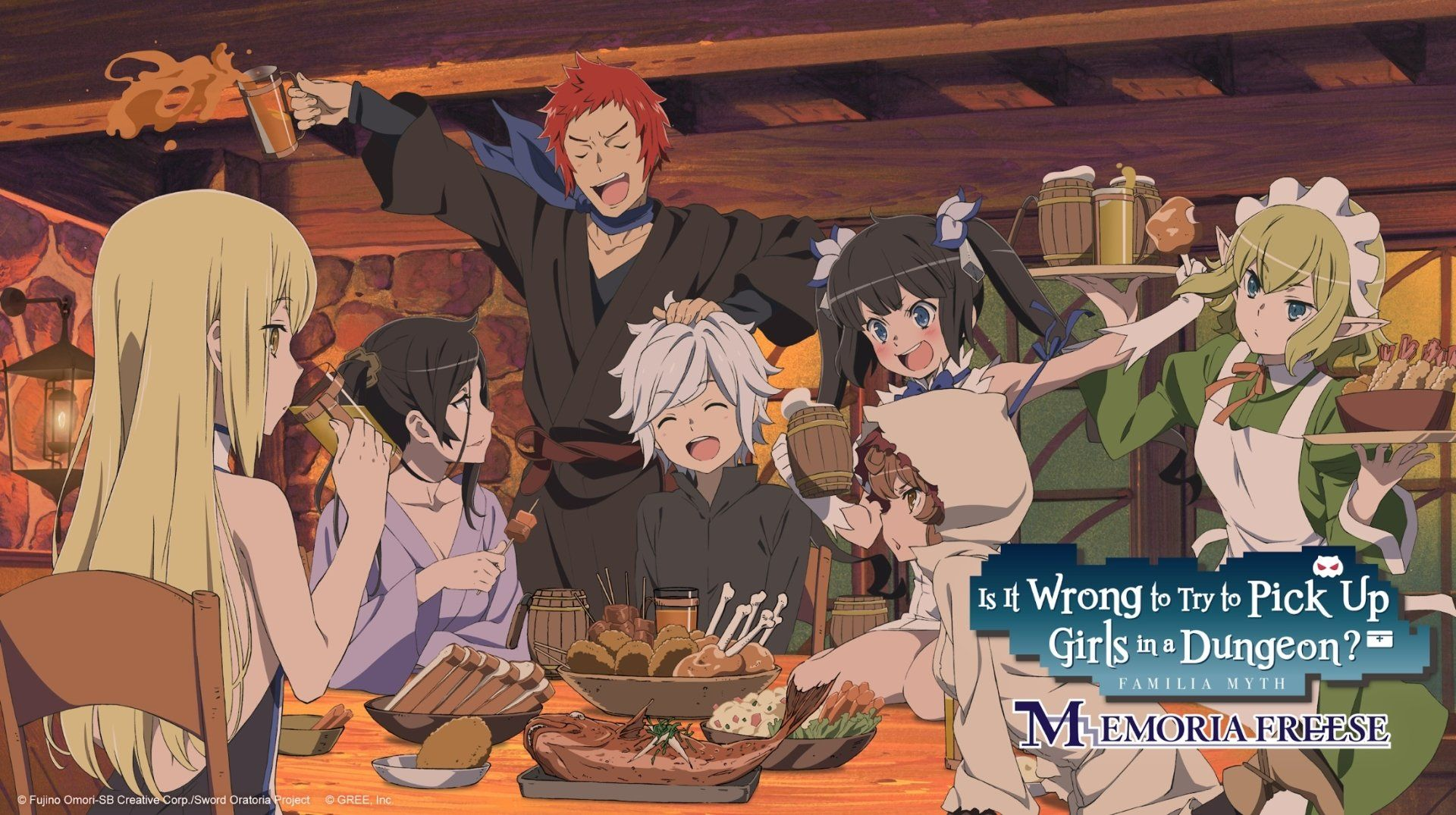 2194x1228 Is It Wrong to Try to Pick Up Girls in a Dungeon