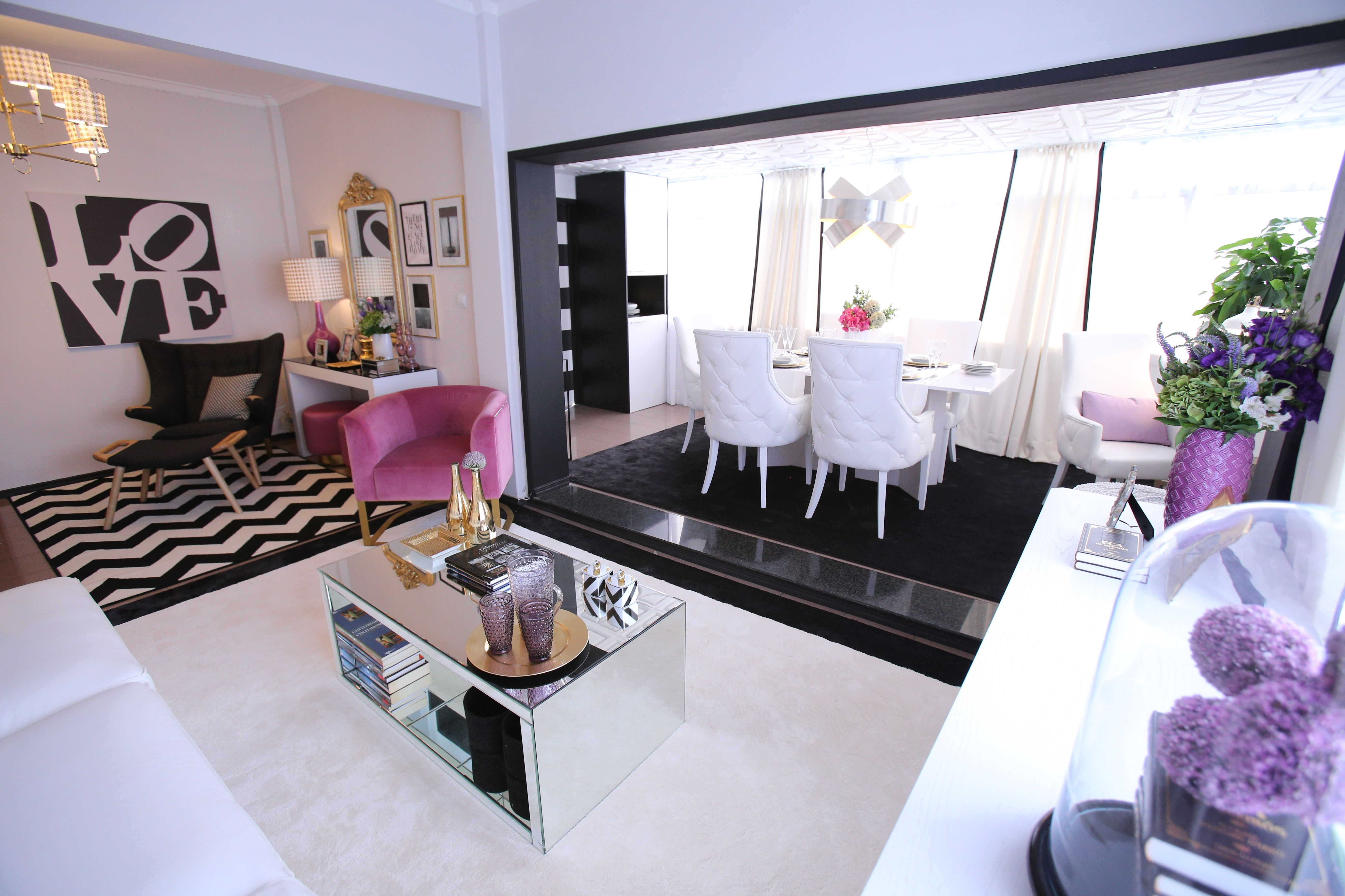 Ana Antunes | Sala De Estar | Living Room | Black White Gold Inspiration |  White Part 97