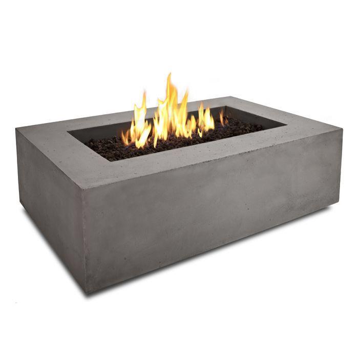 marvelous Diy Fire Table Propane Part - 13: Baltic Rectangle Propane Fire Pit Table