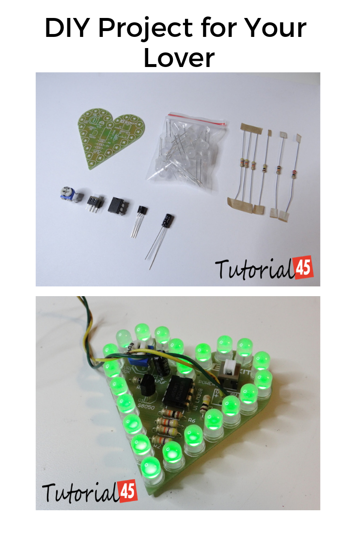 DIY Project for Your Lover Electronics projects for