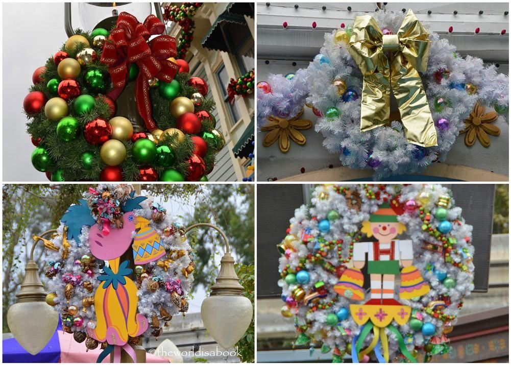 disneyland christmas wreaths