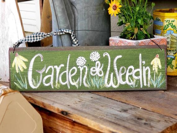 This Item Is Unavailable Etsy Rustic Garden Decor Primitive Wood Signs Garden Signs