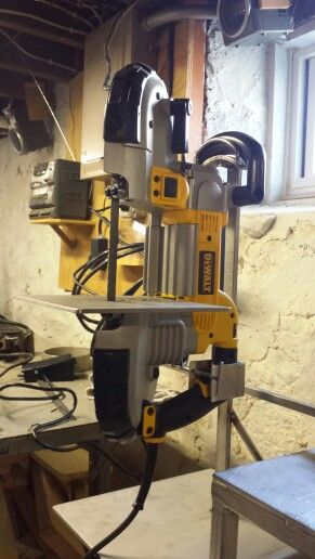 Portable Bandsaw Stand Metal Working Tools Garage Tools Homemade Tools