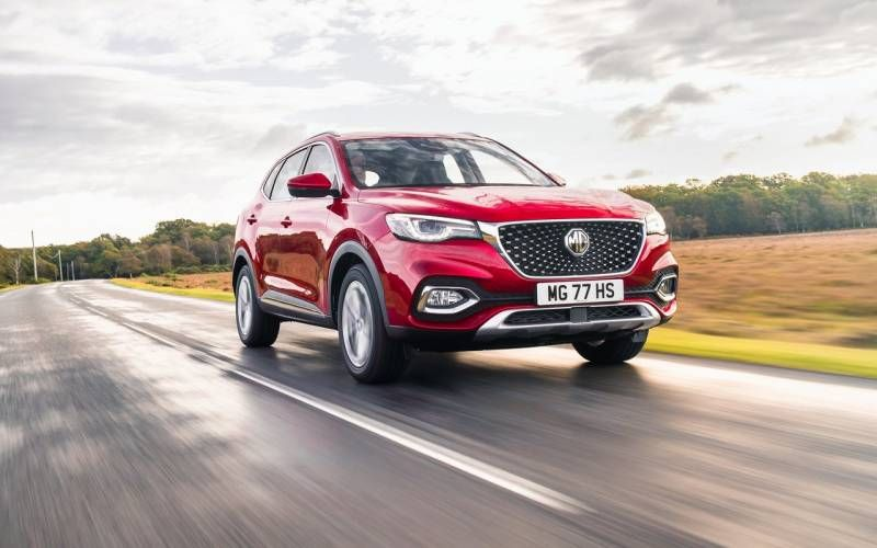 MG HS Excite 2020 in 2020 Sport utility vehicle, Station