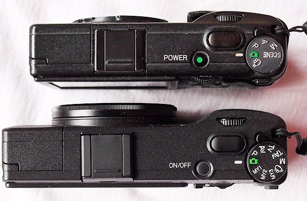 Ricoh GR V vs original Ricoh GR Digital vs Lumix LX5 - photo