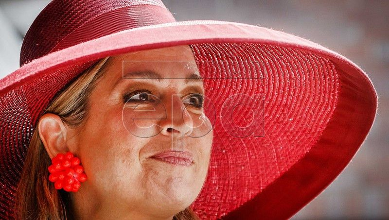 Dutch Queen Maxima attends the start of the national week of activities Get Opportunities Take Opportunities