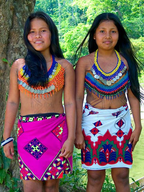 tribes Panama girl indian