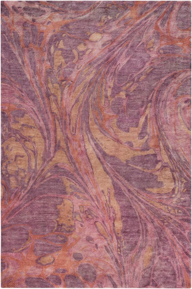 Best Pisces Rug In Rose And Eggplant Design By Surya Rugs 640 x 480