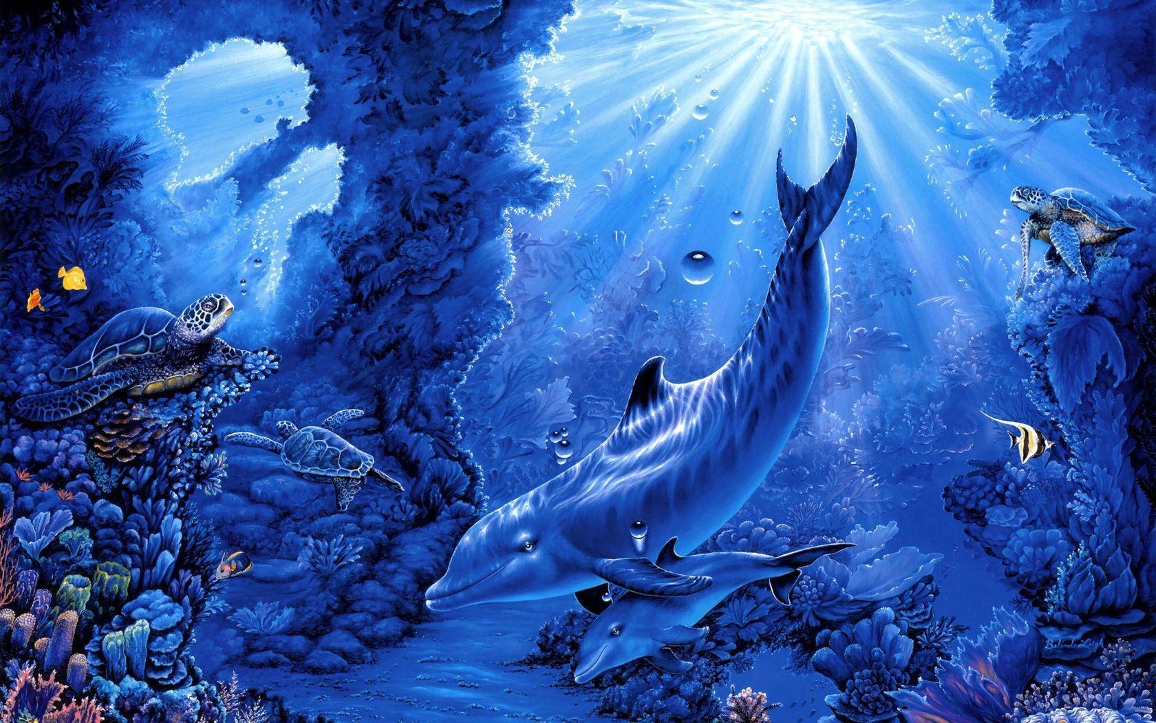 картинки сказки подводный мир этой страничке