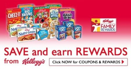 New Kellogg S Family Rewards Points Earn Free Gift Cards
