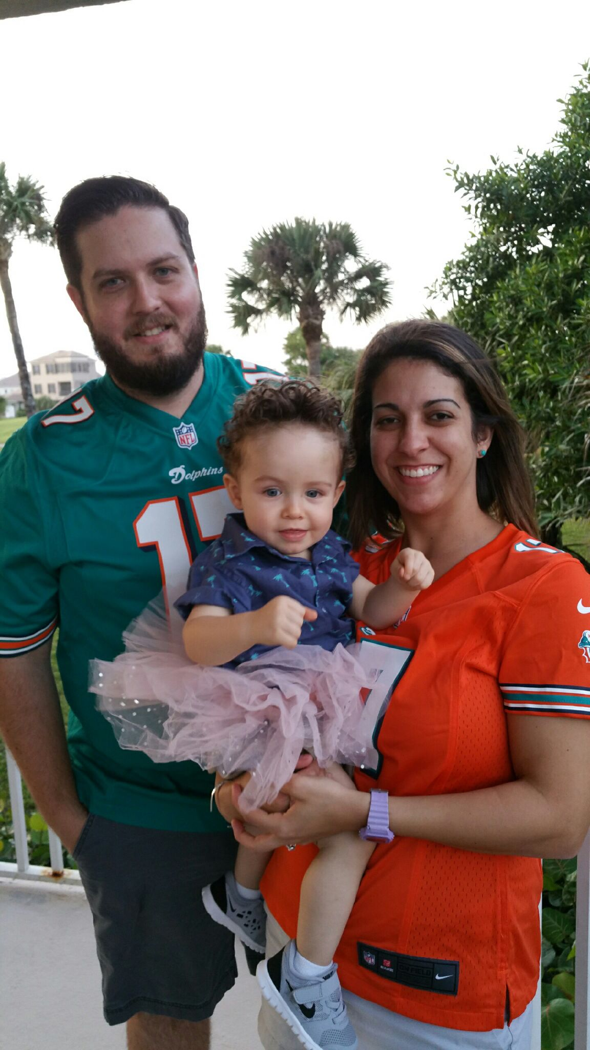 family halloween costume. ace ventura pet detective. miami dolphins