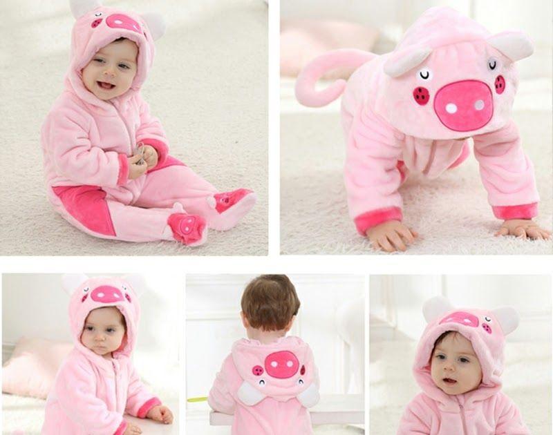 3ea02e282 Best Seller Baby rompers Newborn Cartoon Animal Winter Baby Boy Girl ...