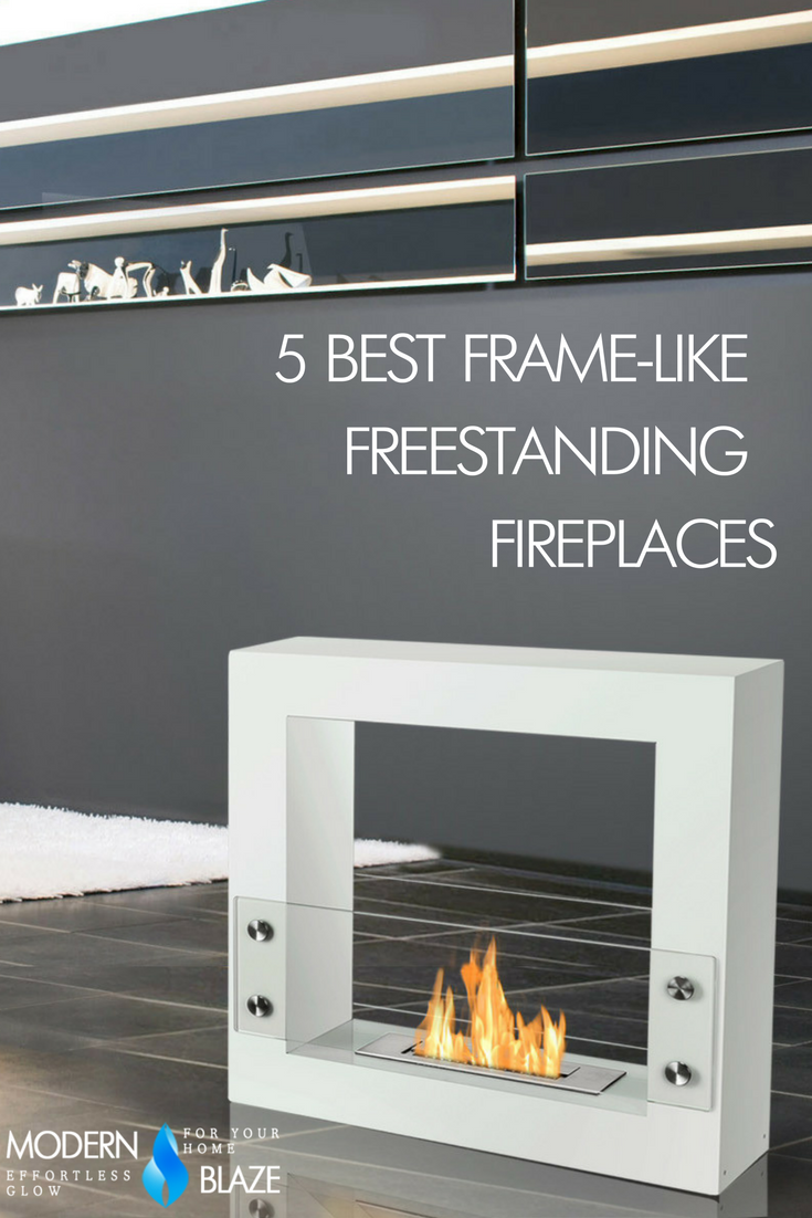 5 best frame like freestanding bioethanol fireplaces