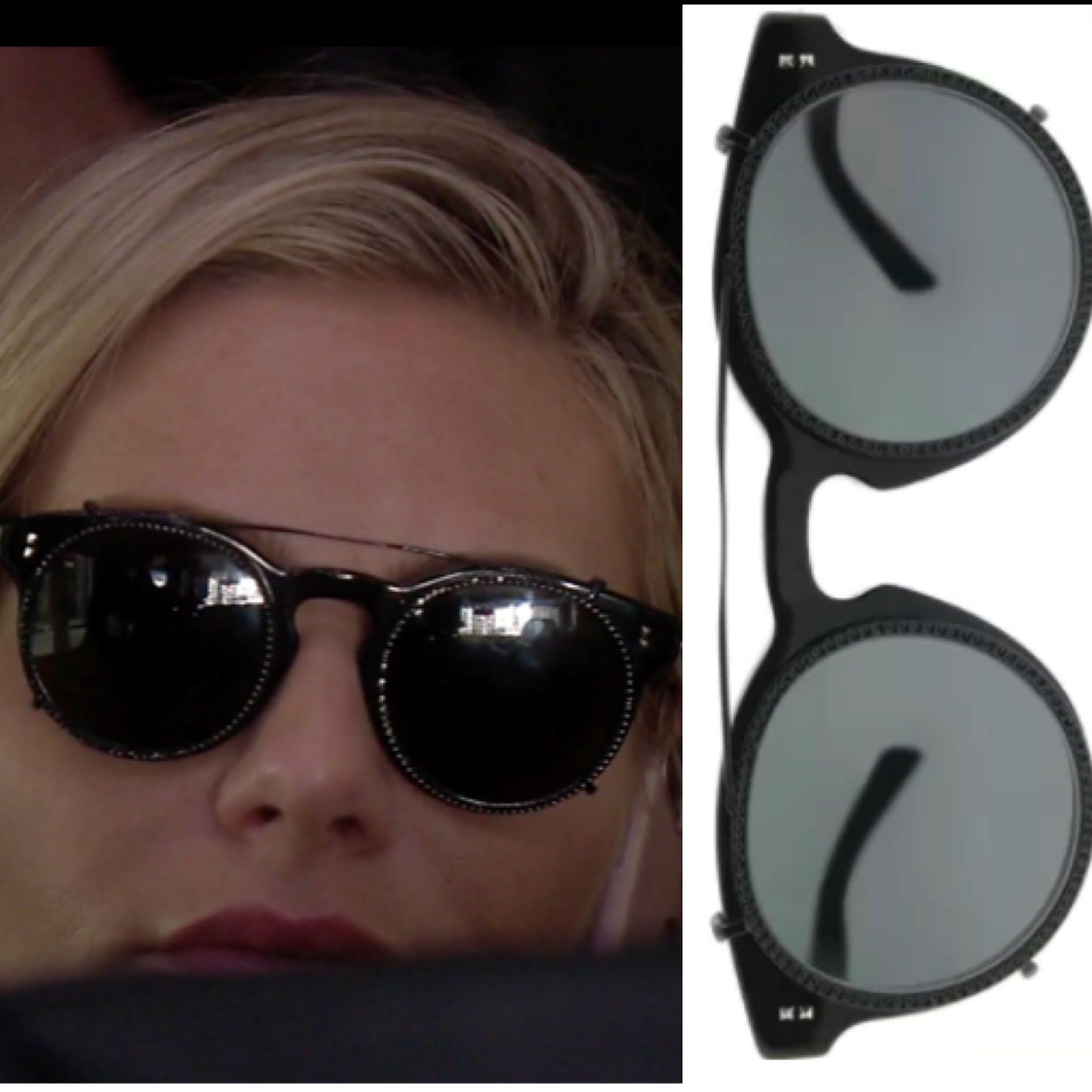Dorit Kemsley S Round Black Sunglasses Black Sunglasses Black Round Sunglasses Sunglasses