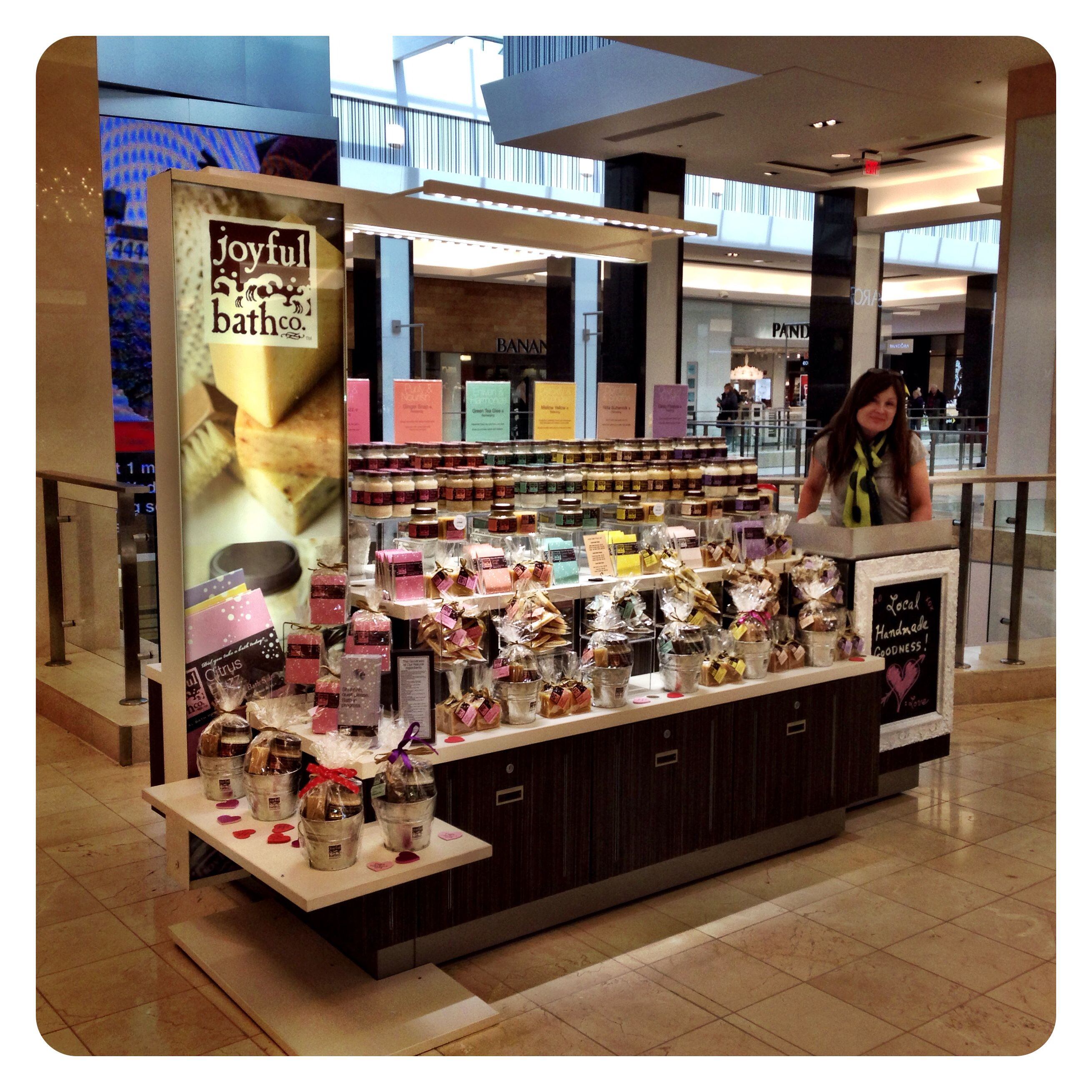 Joyful Bath Co. RMU Cart - Westfield Montgomery   kiosks   Pinterest ...