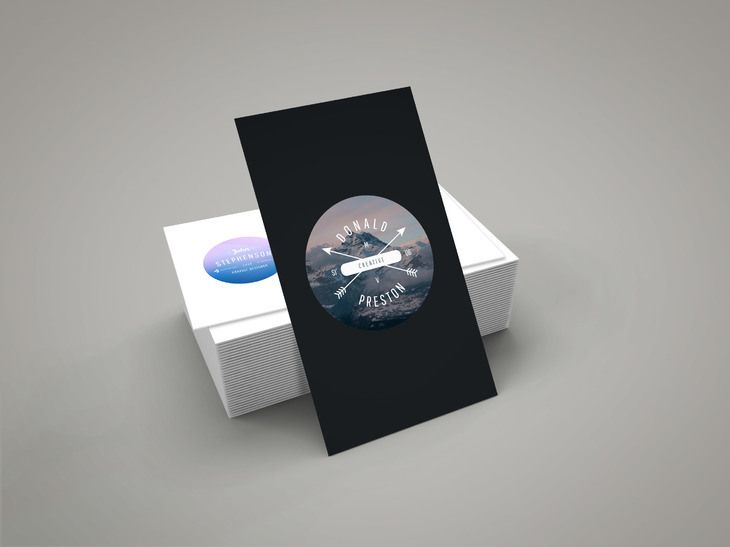 Free business card mockup businesscard display free graphic when you design a business card you need to take advantage of these business card mockup psd designs in order to present your work wajeb Image collections
