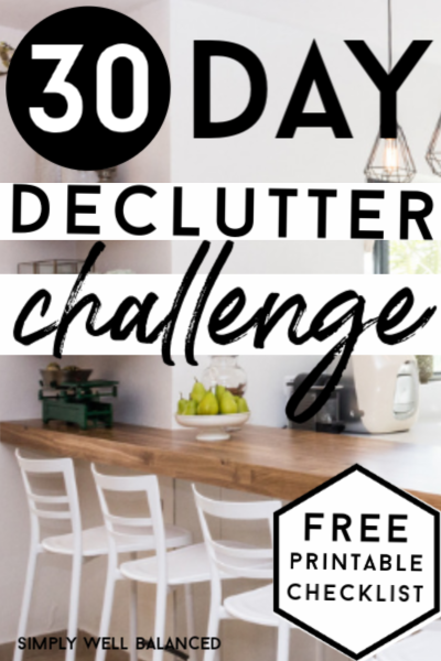 Simply Decluttered 30 Day Minimalism Challenge to